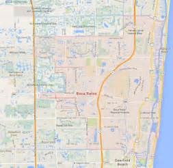 map boca raton florida boca raton florida map
