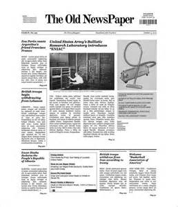 newspaper free template newspaper template 20 jpg psd format