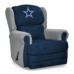 dallas cowboys coach recliner