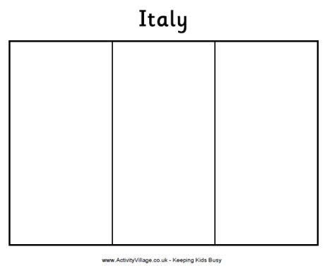 printable italian flag bunting geography for kids italy flag coloring page geography