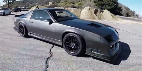 how to learn about cars 1992 chevrolet camaro parking system this has to be the world s wildest v6 camaro