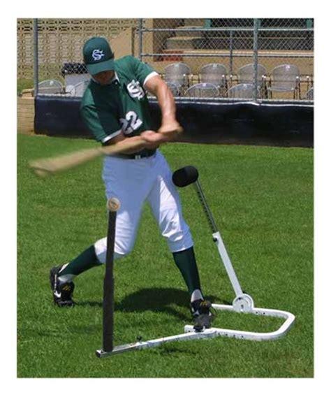 baseball swing training aids swingbuster stay back hitting tee baseball training aid