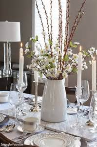 Dining Room Table Floral Centerpieces Setting The Table With Style Tablescape Decor Tips