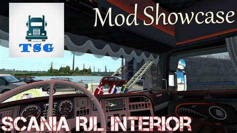 10375 by Mod Showcase Beautiful Scania Rjl Interior Link Youtube