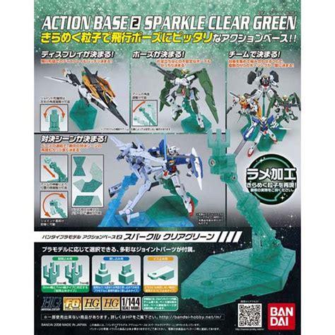 Base 2 Bandai 1 bandai base 2 sparkle clear green b 153708