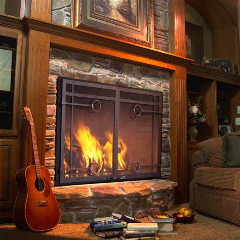 glass door fireplace insert 21 modern fireplace glass doors design to beautify your