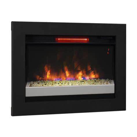 Flush Electric Fireplace by Classicflame 26 In Infrared Insert Flush Mount Conversion Kit 26ii310grg 201 Bbkit 26