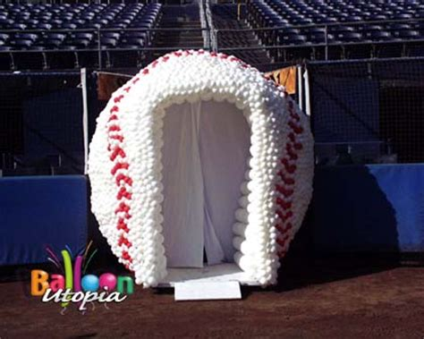 baseball themed corporate events san diego outdoor decor gallery by balloon utopia
