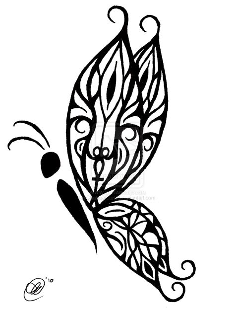 black tribal butterfly tattoos tribal butterfly by chalupagurl13 on deviantart