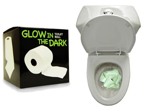 How To Make Glow In The Toilet Paper - daft gadgets glow in the toilet roll