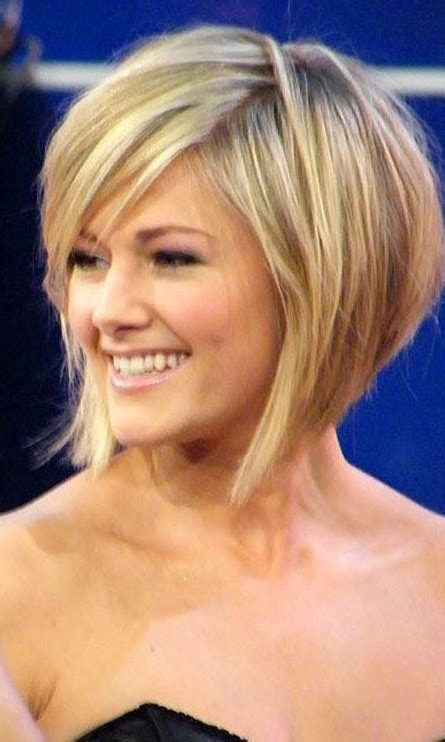 graduated bob for round face helene fischer graduated bob haircut graduated bob
