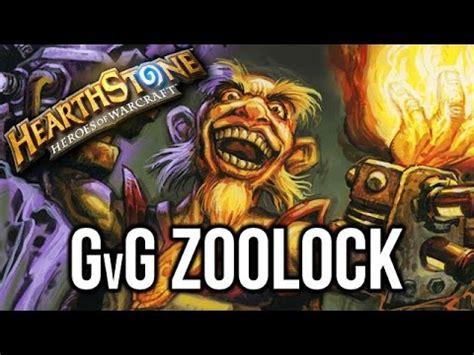 zoolock deck hearthstone goblins vs gnomes zoolock deck list guide