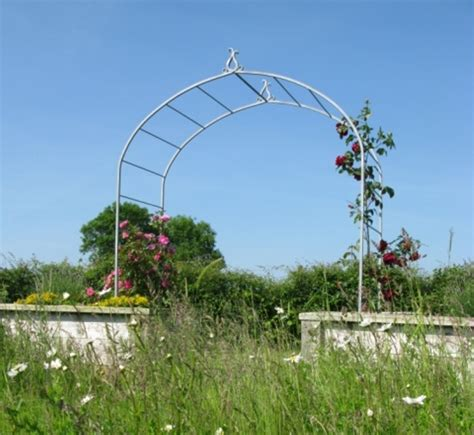 Garden Arch Uk Bespoke Garden Arches Ironart Of Bath