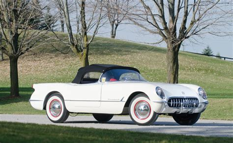 first corvette ever made fifth chevy corvette ever built hits the auction block