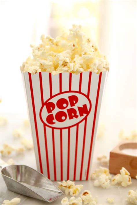 Popcorn In A Paper Bag - microwave popcorn made in a brown paper bag