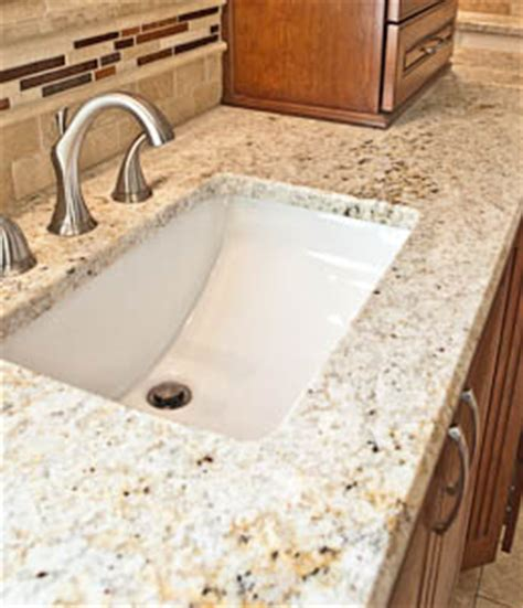 granite undermount bathroom sink undermount sinks in granite countertops
