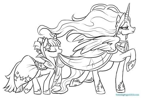 my little pony twilight sparkle coloring pages colotring pages