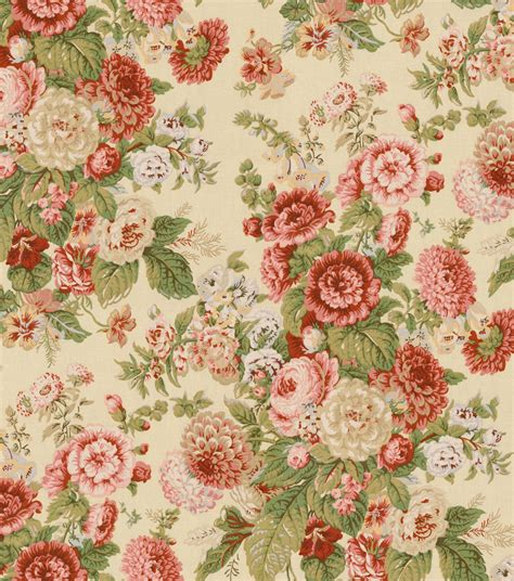 home decorating fabrics home decor print fabric waverly sitting pretty antique