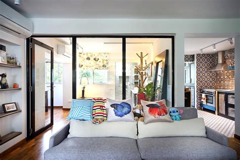 shop at modern eclectic home decor singapore a 4 room hdb flat dressed up in interesting patterned