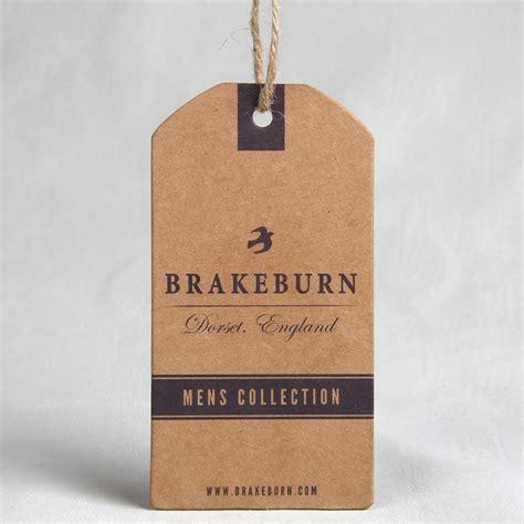 Kar Hang Tag Kotak quanlity tinggi kustom kertas kraft hang tag dengan tali rami untuk buy product on