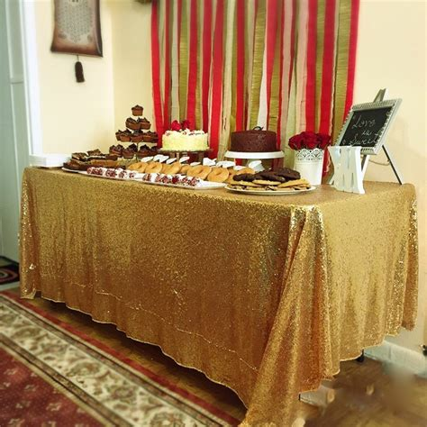 gold sequin table runner wholesale wholesale gold sequin tablecloths for wedding table