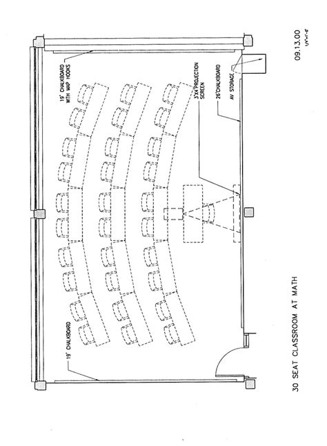 classroom layout for 30 students math stat 30 classroom plan