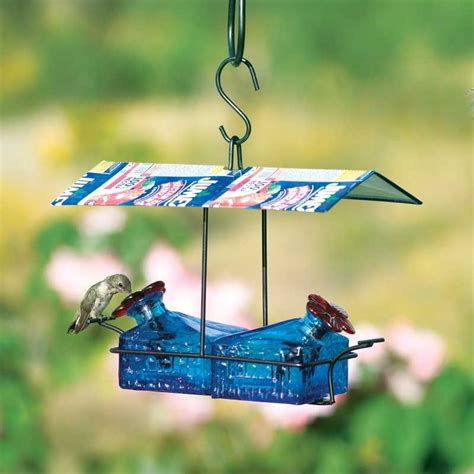 sugar shack 2 perch hummingbird feeder