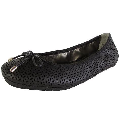 me flat shoes me womens livia leather ballet flat shoes ebay