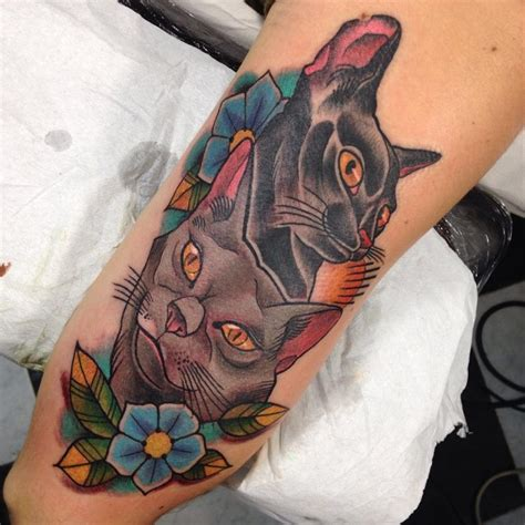 black cat tattoo aftercare 80 best cat tattoo designs meanings spiritual luck 2018