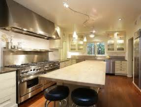 kitchen track lighting easy way to enhance your kitchen