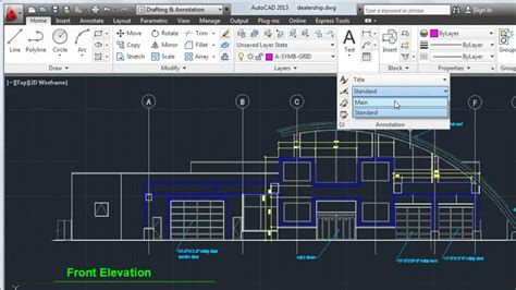 Software Floor Plan by Autocad 2013 Tutorial How To Create Text And Dimensions
