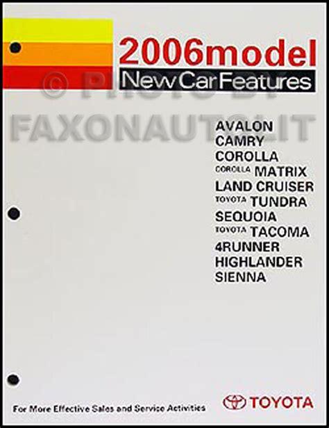 auto repair manual online 2006 toyota sequoia free book repair manuals 2006 toyota service training manual corolla matrix camry