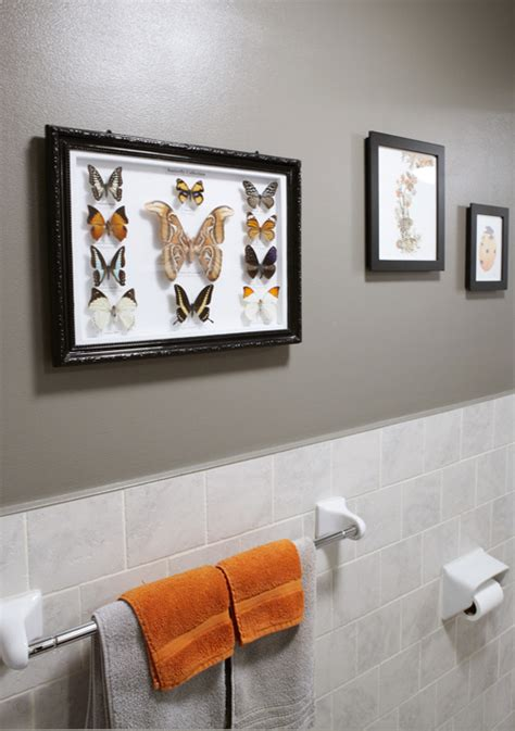orange and grey bathroom gray and orange bathroom design contemporary bathroom benjamin moore eagle rock