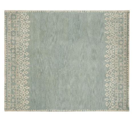 pottery barn desa rug pottery barn 5x8 desa bordered porcelain blue woolen area rugs carpet area rugs