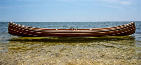Handmade Wooden Canoes - truly beautiful bespoke wooden canoes how to spend it