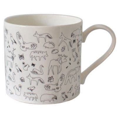 scandinavian design mugs scandinavian design mug with small animals animals