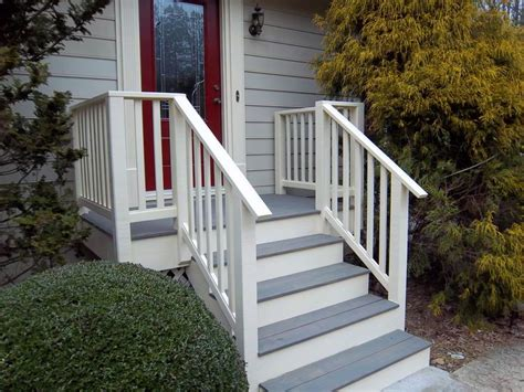 Wooden Front Stairs Design Ideas Best 25 Concrete Front Steps Ideas On Modern Landscape Design Contemporary