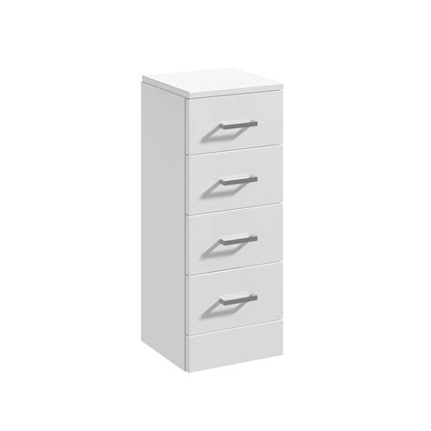 bathroom cloakroom vanity storage furniture units gloss white gloss white bathroom vanity unit cloakroom cabinet cupboard ceramic sink basin ebay