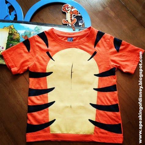 Diy Tigger T Shirt Costume Diy Disney Shirt Template