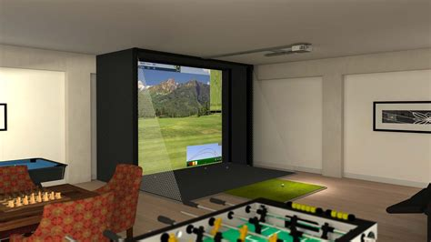 s2 simulator full swing golf indoor golf simulator