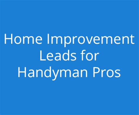 handyman websites handyman repair marketing