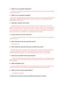 Question And Answer Essay Exles by Weaknesses Exles