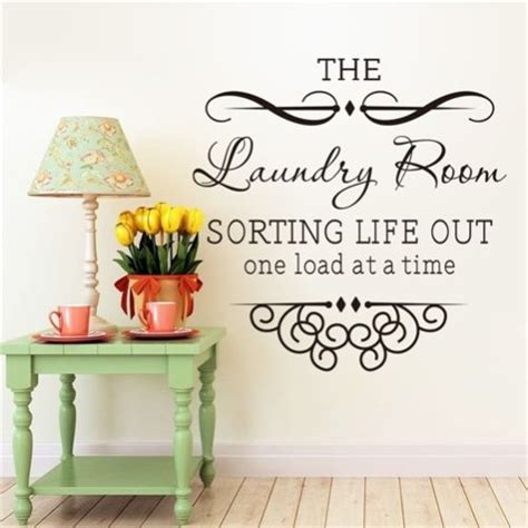 home decorating quotes diy the laundry room home wall decals words decor vinyl