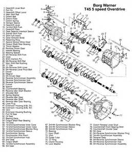 ford t45 manual transmission illustrated parts drawings assiting you in identifiy parts