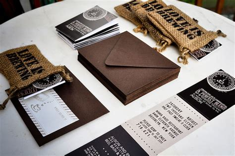 unique coffee themed wedding invitations invitation crush