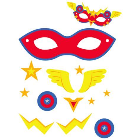 superhero mask template  printable papercraft templates