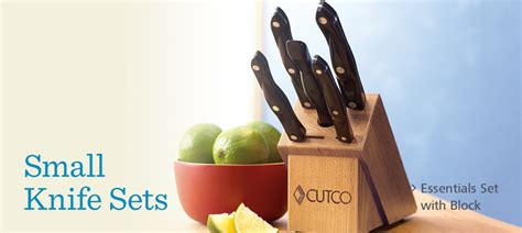 Small Knife Sets by Cutco