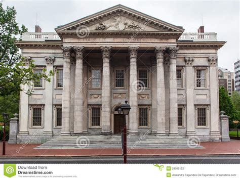 bank of pennsylvania bank of the united states stock photography image
