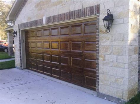 17 Best Images About Garage Door Wood Faux On Pinterest Overhead Door Of Houston