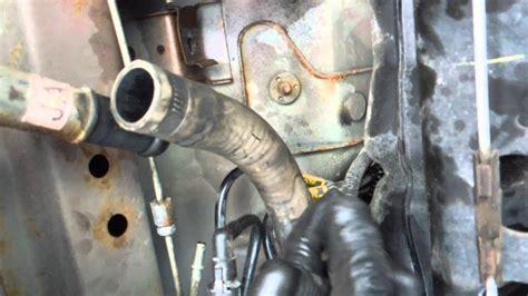 install remove replace fuel tank fuel pump pontiac